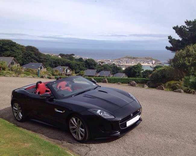 Jaguar F Type Hire