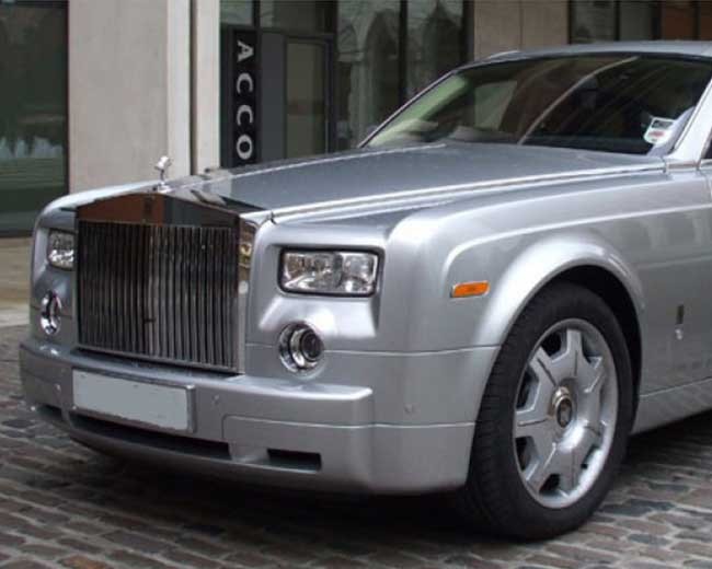 Rolls Royce Phantom - Silver Hire